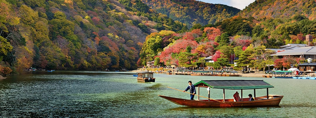 Fall Foilage in Kyoto